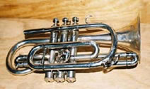 Cornets, Euphoniums, French horns, Tenor horns, Trombones, Trumpets, Tubas