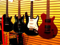 Types of Guitar, Acoustic, Electric, Bass